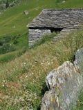 Alpi italiane; d'Otro di Valle Fotografia Stock