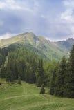 Alpi italiane da Vipiteno - Vipiteno Alto Adige, Bolzano Immagine Stock