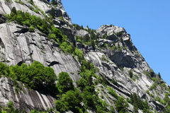 Alpi italiane di estate Fotografie Stock Libere da Diritti