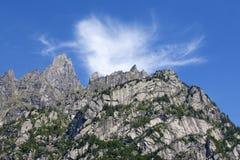 Alpi italiane di estate Fotografie Stock