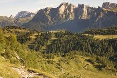 Alpi italiane, dolomia Fotografia Stock