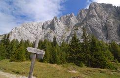 Alpi italiane: Dolomia Immagini Stock Libere da Diritti