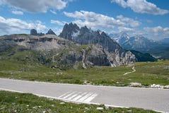 Alpi italiane, dolomia Fotografie Stock Libere da Diritti