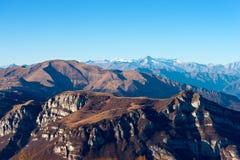 Alpi italiane - gruppo della montagna di Adamello Immagine Stock Libera da Diritti