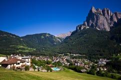 Alpi italiane - lo Sciliar Fotografie Stock Libere da Diritti