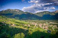 Alpi italiane - lo Sciliar Fotografia Stock