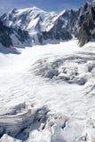 Alpi italiane Mont Blanc Fotografia Stock Libera da Diritti