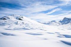 Alpi italiane nell'inverno Immagini Stock Libere da Diritti