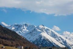 Alpi italiane in primavera Immagini Stock Libere da Diritti