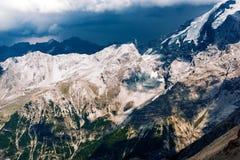 Alpi italiane sceniche Fotografia Stock