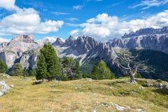 Alpi italiane in Val Badia Immagini Stock Libere da Diritti