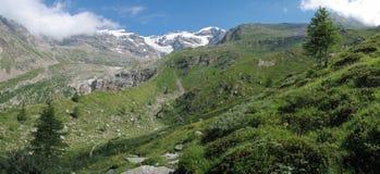 Alpi italiane; Val Gressoney Fotografia Stock