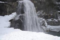 Alpi, krimml Fotografia Stock