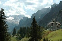 Alpi, la catena montuosa di Dachstein Immagini Stock Libere da Diritti