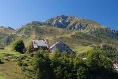Alpi ligure Fotografie Stock Libere da Diritti