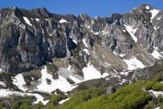 Alpi ligure, Italia Fotografie Stock