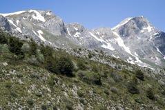 Alpi ligure, Italia Fotografia Stock Libera da Diritti