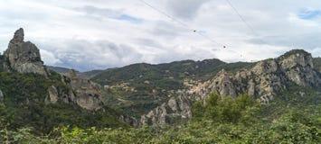 Alpi Lucan Immagine Stock