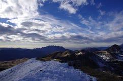 Alpi magiche Fotografia Stock
