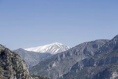 Alpi marittime in primavera Immagini Stock Libere da Diritti
