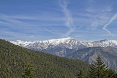 Alpi marittime a Tenda Immagini Stock