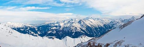 Alpi in Mayrhofen, Austria Immagine Stock Libera da Diritti