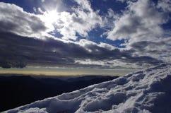 Alpi meravigliose Immagine Stock