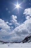 Alpi meravigliose Fotografie Stock Libere da Diritti