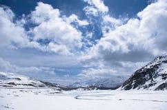 Alpi meravigliose Fotografie Stock
