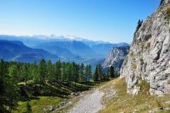 Alpi, montagne di Dachstein Immagini Stock
