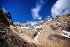 Alpi Mt di Apuan Cavallo Fotografia Stock