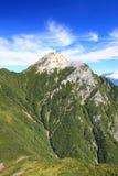 Alpi Mt. Kaikomagatake del Giappone Fotografie Stock