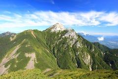 Alpi Mt. Kaikomagatake del Giappone Immagini Stock