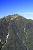 Alpi Mt. Senjougatake del Giappone Fotografia Stock Libera da Diritti
