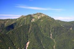 Alpi Mt. Senjougatake del Giappone Fotografie Stock Libere da Diritti