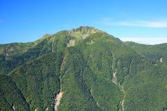 Alpi Mt. Senjougatake del Giappone Immagine Stock