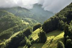 Alpi nel cantone del Canton Nidvaldo switzerland Fotografia Stock Libera da Diritti