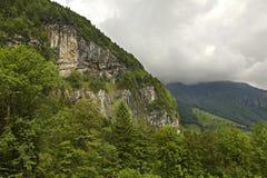 Alpi nel cantone del Canton Nidvaldo switzerland Immagini Stock Libere da Diritti