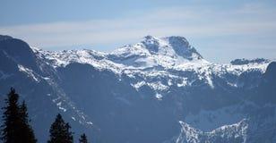 Alpi nel tempo di primavera vicino alla città di Grunau Fotografia Stock Libera da Diritti
