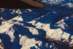 Alpi nell'ambito della manifestazione Immagini Stock