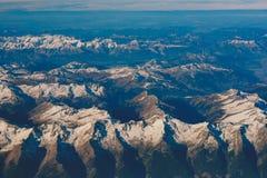 Alpi nell'ambito della manifestazione Fotografie Stock Libere da Diritti