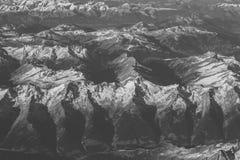 Alpi nell'ambito della manifestazione Fotografie Stock