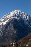 Alpi nell'inverno - 16 Fotografia Stock Libera da Diritti