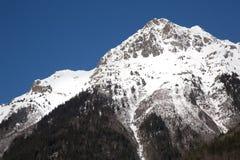 Alpi nell'inverno - 17 Fotografie Stock