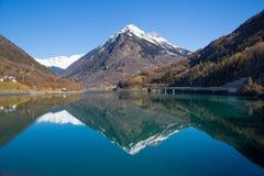 Alpi nell'inverno - 18 Fotografia Stock Libera da Diritti