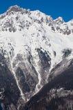 Alpi nell'inverno - 20 Fotografia Stock