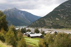 Alpi norvegesi Immagini Stock Libere da Diritti