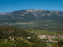Alpi orientali Fotografia Stock