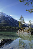 Alpi, ramsau-hintersee Fotografia Stock