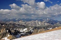Alpi, regione di Francia, Italia, Svizzera Fotografie Stock